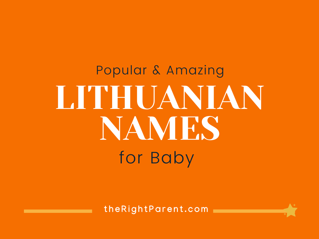 201+ Amazing Lithuanian Names for your Baby with Meaning