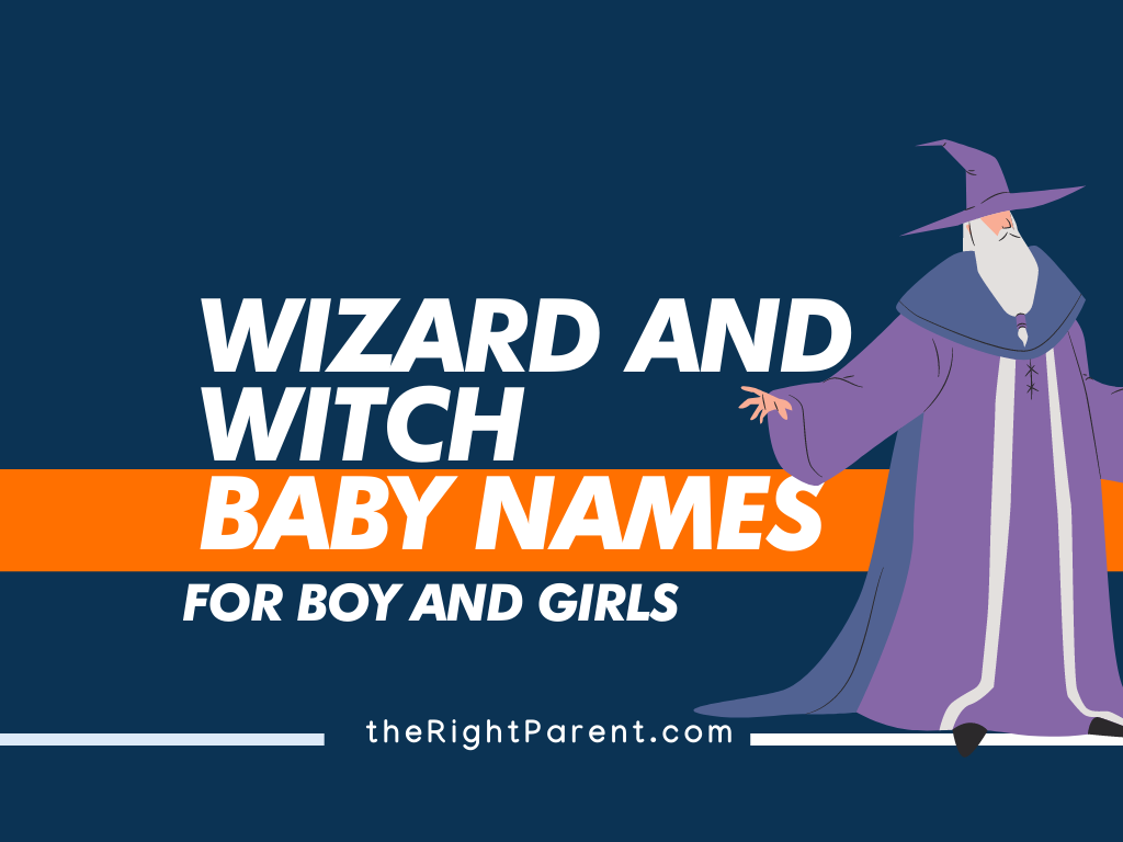 150+ Amazing Wizard and Witch Names for Baby (Meaning ...